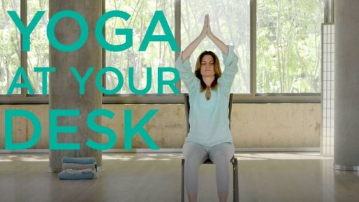 yoga journal at your desk