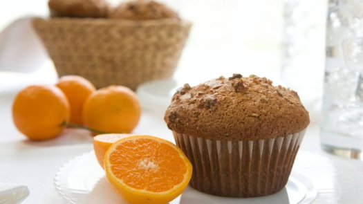 mayo cranberry orange muffins